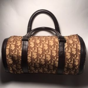Vintage Dior roll bag